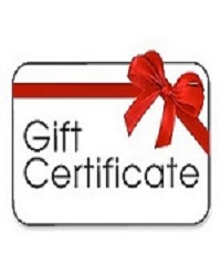 poster for Gift Certificate